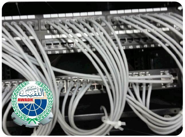 تركيب شبكة واسعة (WAN) بين المركز الرئيسي والفروع في المدن لمجموعة بن عوض النقيب التجارية